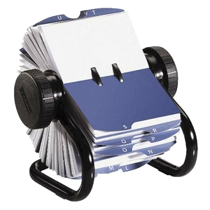 this is a rolodex, you young hooligans