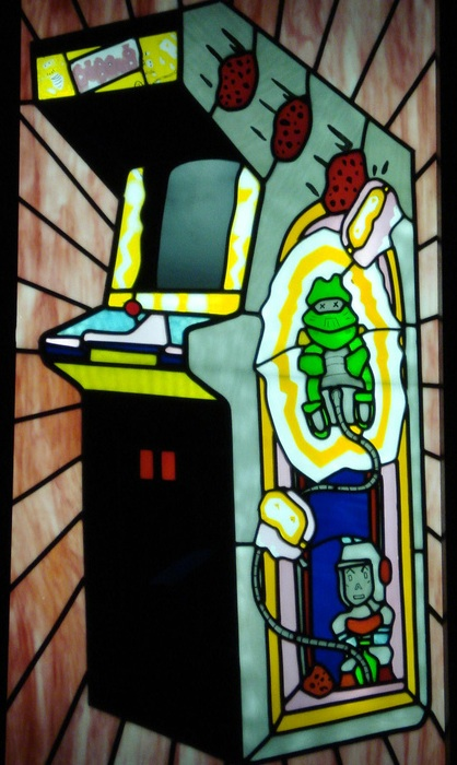 Dig Dug window