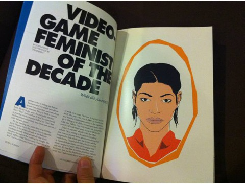 Video Game Feminist of the Decade in Kill Screen, issue 1