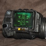 The finished Pip-Boy.