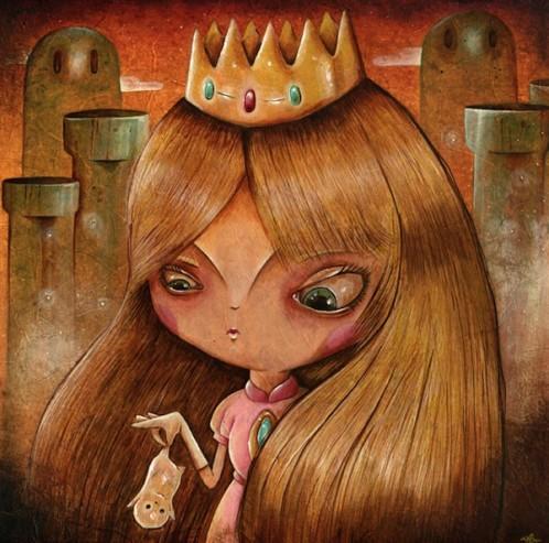 Y Lorenzo, Toadstool painting